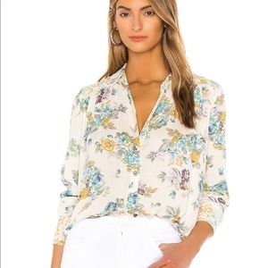 Free People Hold Onto Me Floral Shirt